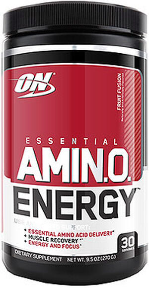 Optimum Nutrition Essential AmiNO Energy™ Fruit Fusion 10 oz. Powder