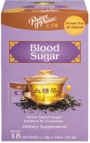 Prince of Peace Blood Sugar Herbal Tea 18 Tea Bags