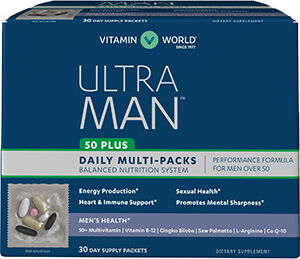 Vitamin World Ultra Man™ 50 Plus Daily Multi-Packs