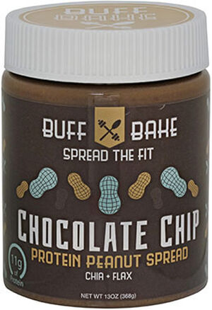 Buff Bake Chocolate Chip Peanut Butter Protein 13 oz. Cream