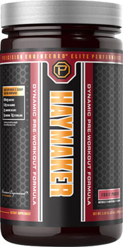 Precision Engineered® Elite Performance Haymaker Pre Workout Fruit Punch 17 oz. 17 oz. Powder