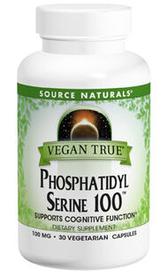 Naturals Vegan True Phosphatidyl Serine 100 11 oz. Powder Fruit Punch