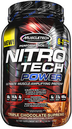 Nitro Tech™ Power Whey Protein Triple Chocolate Supreme, , hi-res