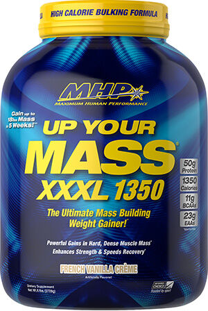 MHP Up Your Mass® XXXL 1350 French Vanilla Creme