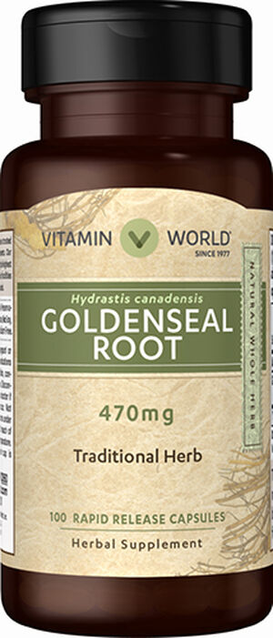 Goldenseal Root 470mg, , hi-res
