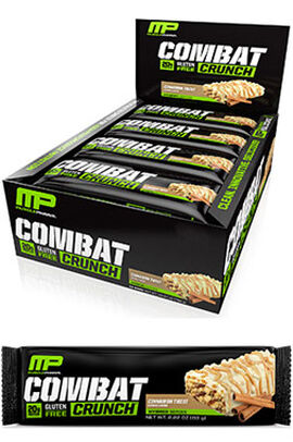 Combat Crunch™ Protein Bars Cinnamon Twist