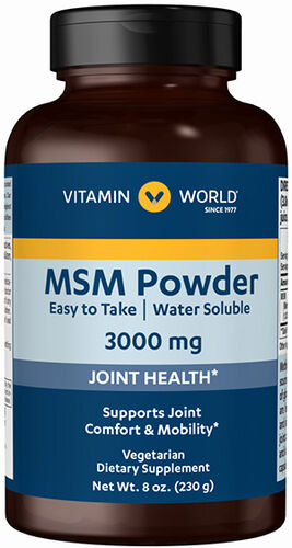 Vitamin World MSM Powder 30000 mg. 8 oz. Powder