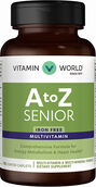 Vitamin World A to Z Senior Multivitamins Iron Free 120 Caplets