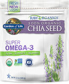 Garden Of Life RAW Organics™ 100% Organic Chia Seed 12 oz. Bag 3GRM