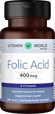 Folic Acid 400 mcg.
