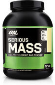 Optimum Nutrition Serious Mass Vanilla 6 lbs., , hi-res
