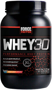 Whey30® Performance Whey Protein 2.7 lbs. Fruity Cereal Splash