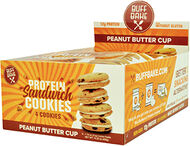 Buff Bake Protein Sandwich Cookies Peanut Butter Cup 8 Pack