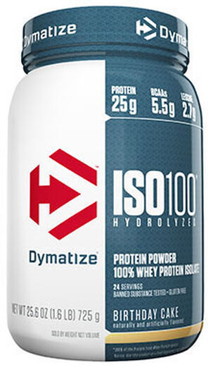 ISO-100® Whey Protein Isolate Birthday Cake 1.6 lbs., , hi-res