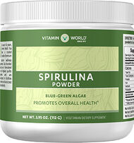 Vitamin World Spirulina Powder 7000 mg. 4 oz. Powder