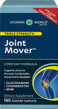 Vitamin World Triple Strength Joint Mover™ 180 Caplets