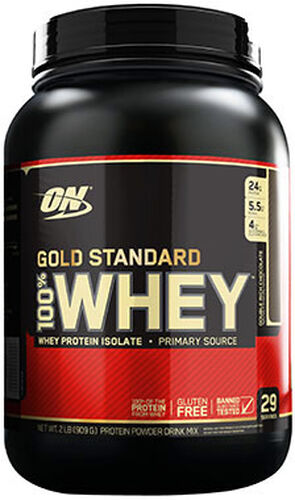 7fd5aeb38 Optimum Nutrition Gold Standard 100% Whey Protein Double Rich Chocolate 2  lbs. 2 lbs