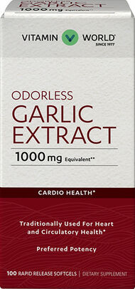 Odorless Garlic Softgels 1,000mg., , hi-res