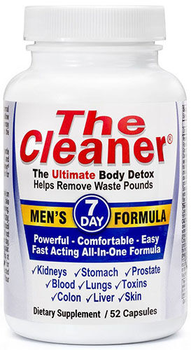 Century Systems The Cleaner® 7 Day Men's Formula 52 Capsules