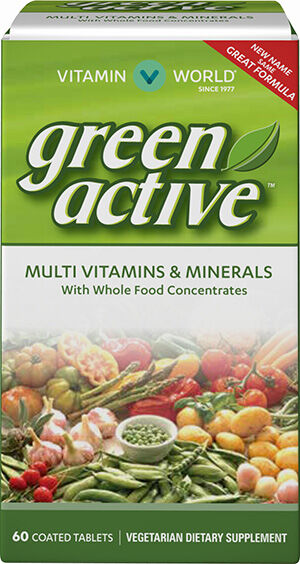 Green Source® Multi Vitamins and Minerals, 60, hi-res