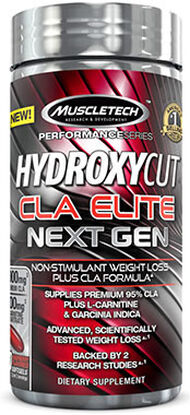 MuscleTech Hydroxycut Next Gen CLA Elite 100 Softgels