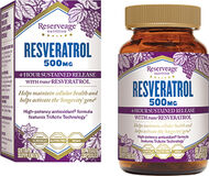 Reserveage™ Nutrition Resveratrol 500 mg. 60 Capsules