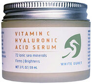 White Egret Vitamin C Hyaluronic Acid 2 oz. Cream