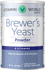 Vitamin World Brewer's Yeast Powder
