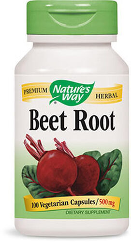 Nature's Way Beet Root 500 mg. 100 Capsules