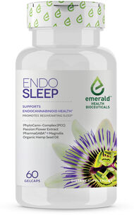 Emerald Health Bioceuticals Endo Sleep Organic Hemp Seed Oil