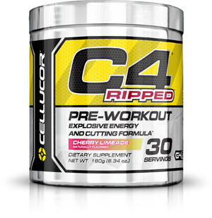 Cellucor C4 Ripped Pre Workout Cherry Limeade 6 oz. Powder