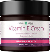 Vitamin World Vitamin E Cream 6000 IU