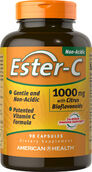 American Health Ester C 1000 mg. 90 Tablets