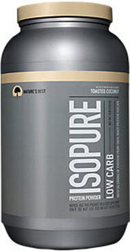 Nature's Best Isopure Low Carb Whey Protein Isolate Toasted Coconut 3 lbs. 3 lbs. Powder