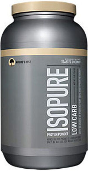 Isopure Isopure Low Carb Whey Protein Isolate Toasted Coconut 3 lbs. 3 lbs. Powder