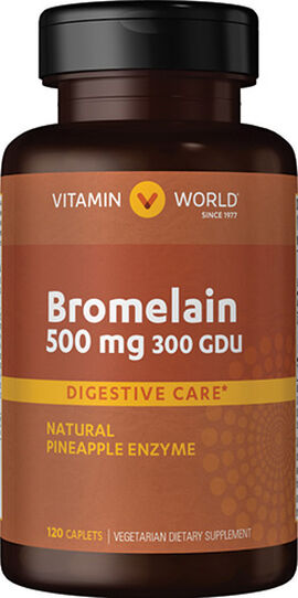 Pineapple Bromelain 500 mg.