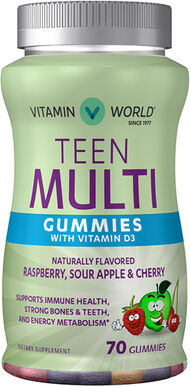 Teen Multivitamin Gummies, , hi-res