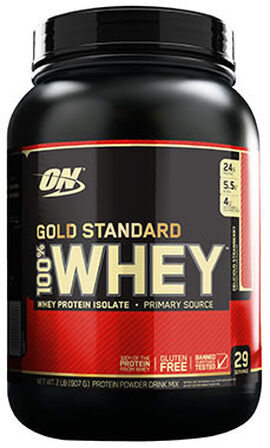 Gold Standard 100% Whey Strawberry 2 lbs.