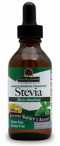 Nature's Answer Liquid Stevia 2 oz. Liquid 500mg.