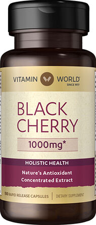 Vitamin World Black Cherry 1000 mg 100 Capsules