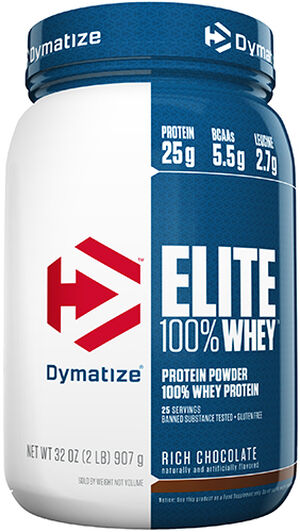 Elite 100% Whey Protein 2 lbs. Rich Chocolate, , hi-res