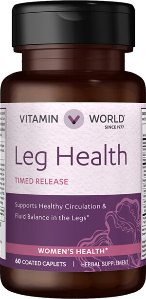 Vitamin World Leg Health 60 Caplets