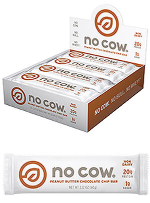 D's Naturals No Cow® Protein Bars Peanut Butter Chocolate Chip 12 Bars