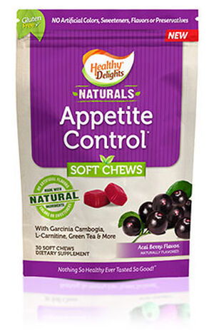 Healthy Delights Naturals Appetite Control Chews 30 Chews Acai Berry