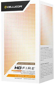 Cellucor SuperHD Fire Stimulant Free 56 Capsules