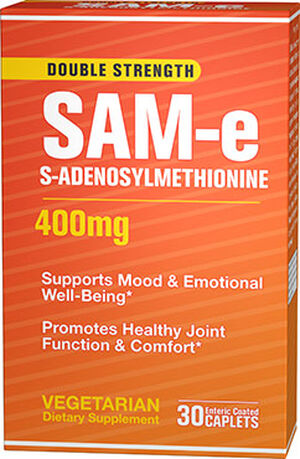 Vitamin World SAM-e 400 mg. 30 Caplets
