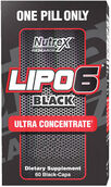 Nutrex® LIPO 6 Black Ultra Concentrate 60 Capsules