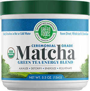 Green Foods Matcha Green Tea ceremonial grade