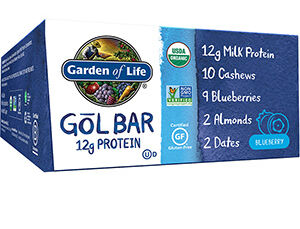 Garden of Life Organic GOL Protein Bars Blueberry