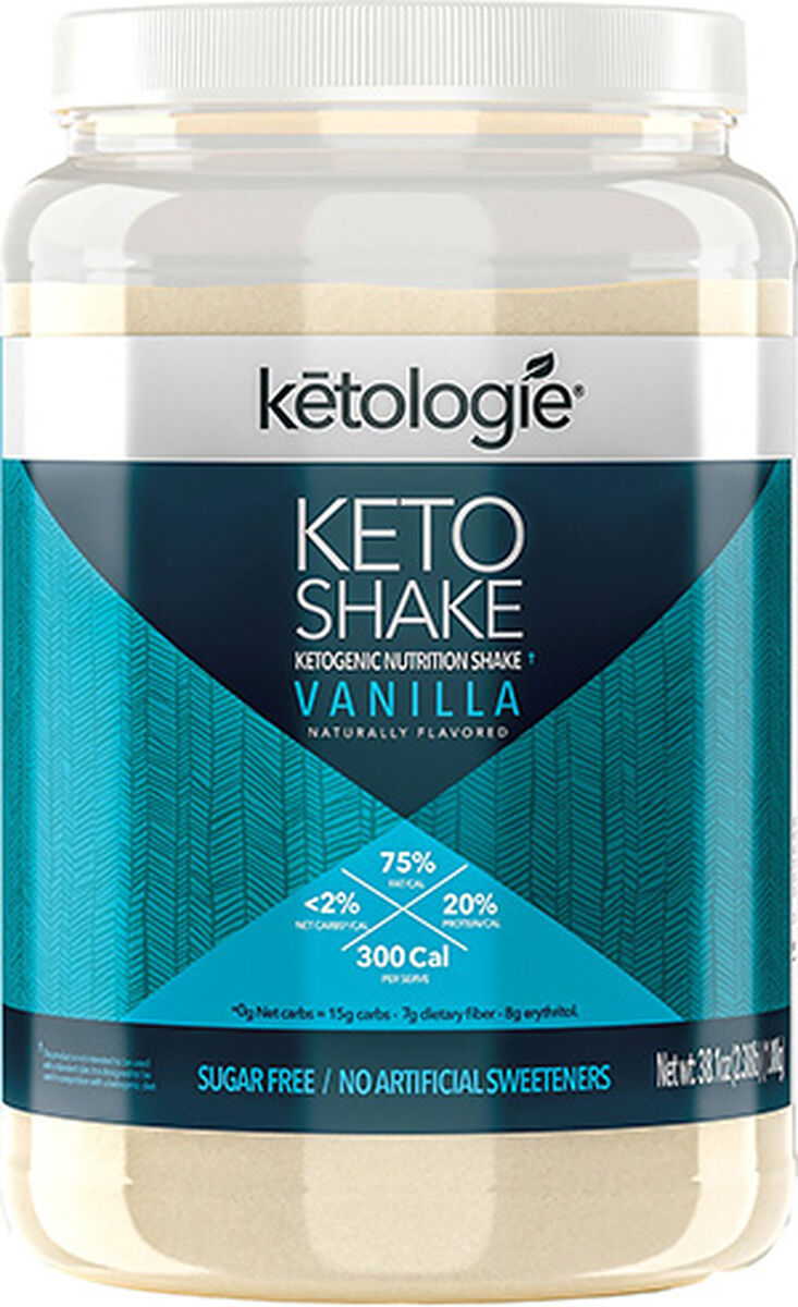 Ketologie Keto Protein Shake Vanilla | Ketogenic | Vitamin World